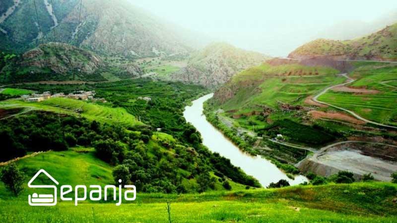 طبیعت زیبای استان کردستان