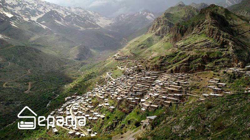 اورامان در سفر به کردستان ملقب به ماسوله غرب