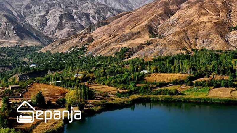 طبیعت زیبا و سرسبز استان کردستان