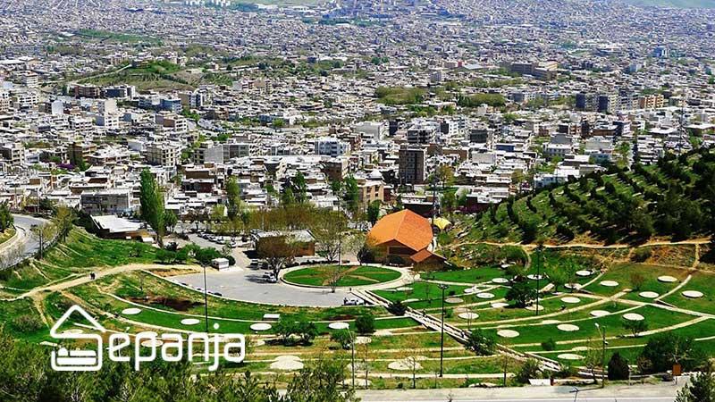 عکس شهر سنندج در استان کردستان