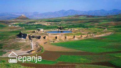 تصویر دریاچه سلیمان ، جادویی ترین و اسرارآمیز ترین دریاچه ایران