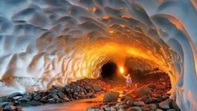 تصویر از غار نمکدان قشم