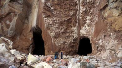 تصویر از معدن نمک گرمسار