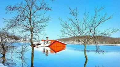 تصویر از سقالکسار دریاچه ی زیبا و پاک