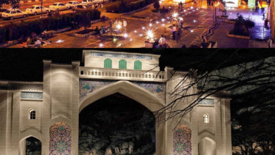 تصویر از دروازه قرآن شیراز