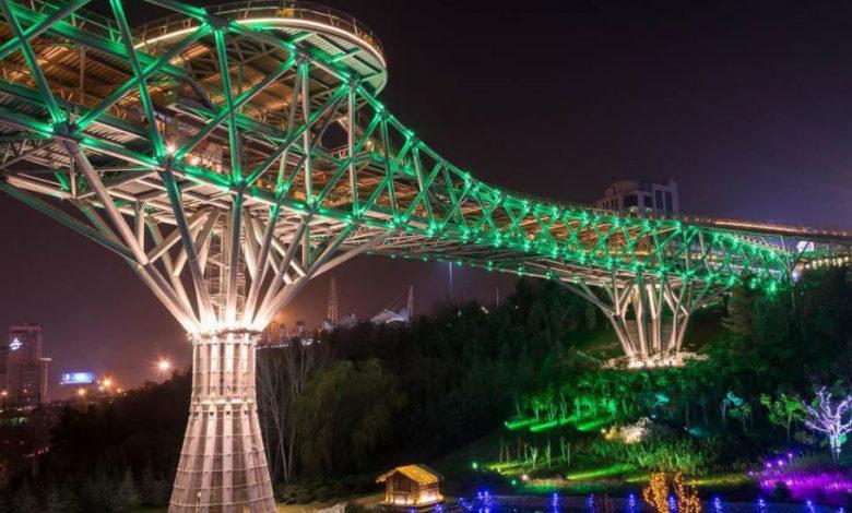 پل طبیعت تهران (2)