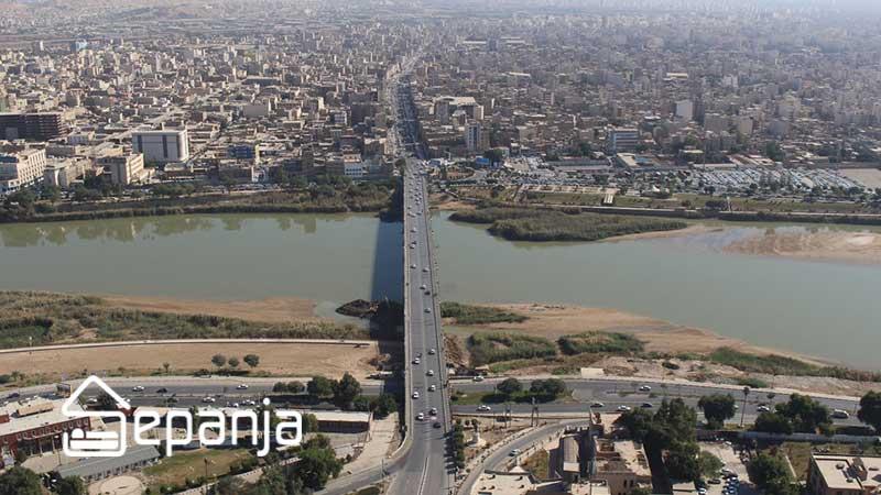 شهر اهواز در استان خوزستان