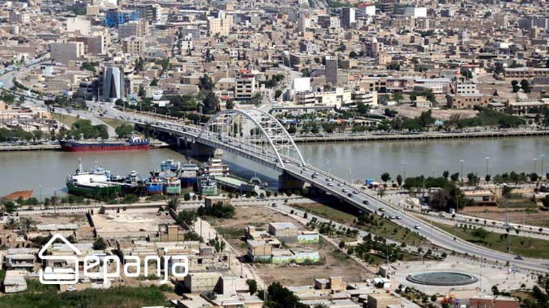شهر خرمشهر خوزستان