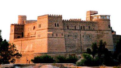 تصویر قلعه شوش یادگار کتیبه داریوش