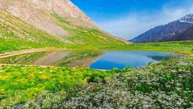 تصویر دریاچه کوه گل سی سخت