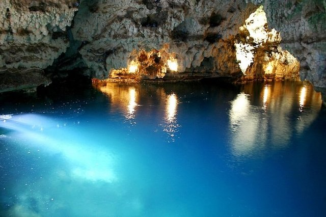 زیبایی های غار سهولان