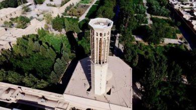 تصویر از باغ دولت آباد یزد