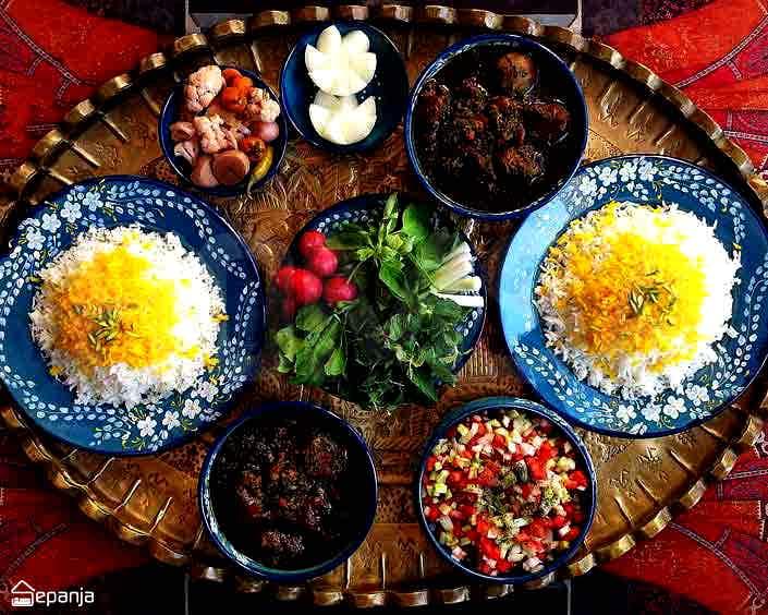 غذاهای شمال
