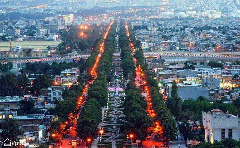 زمان سفر به کرمانشاه