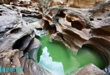 تصویر تنگه ی چاهکوه ، دره ای مقدس و دیدنی در جزیره قشم