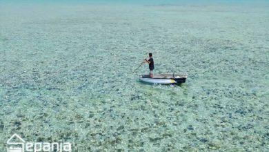 تصویر از جزیره لاوان – مروارید گمشده خلیج فارس را بیشتر بشناسیم!