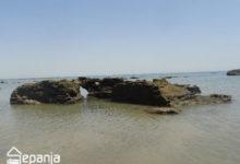 تصویر ساحل روزنه دریا ؛ جاذبه ای اعجاب انگیز در جزیره هرمز