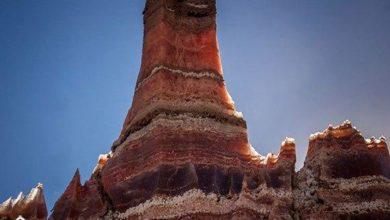 تصویر گنبد نمکی جاشک دشتی ؛ فعالترین گنبد نمکی خاورمیانه
