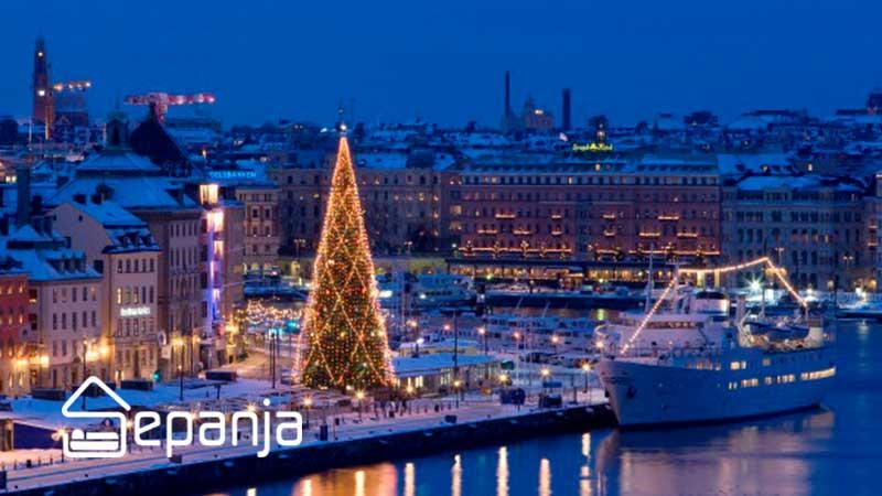 آداب و رسوم سال نو در سوئد