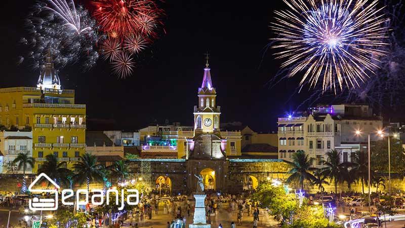 سال نو در کلمبیا