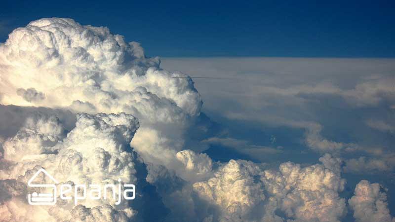 ابرهای CB برای وضعیت آب و هوایی در سفر