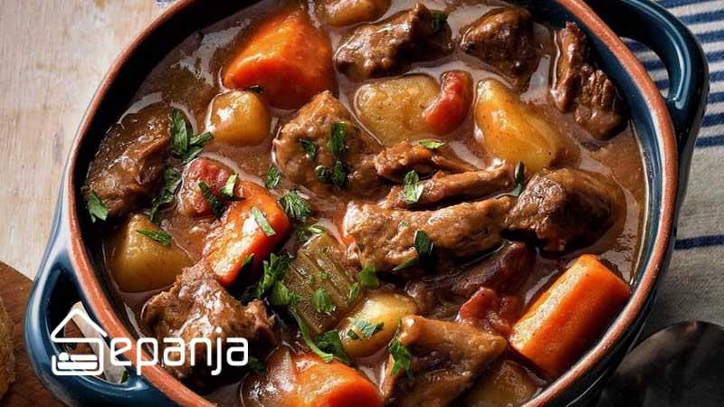 تاس کباب غذای محلی اصفهان