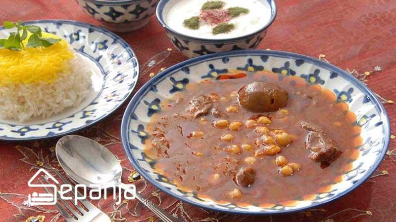 غذاهای محلی یزد