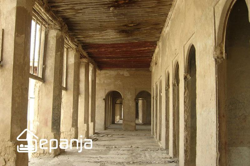 داخل عمارت ملک بوشهر