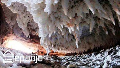 تصویر آیا طولانی ترین غارهای نمکی را دیده اید؟