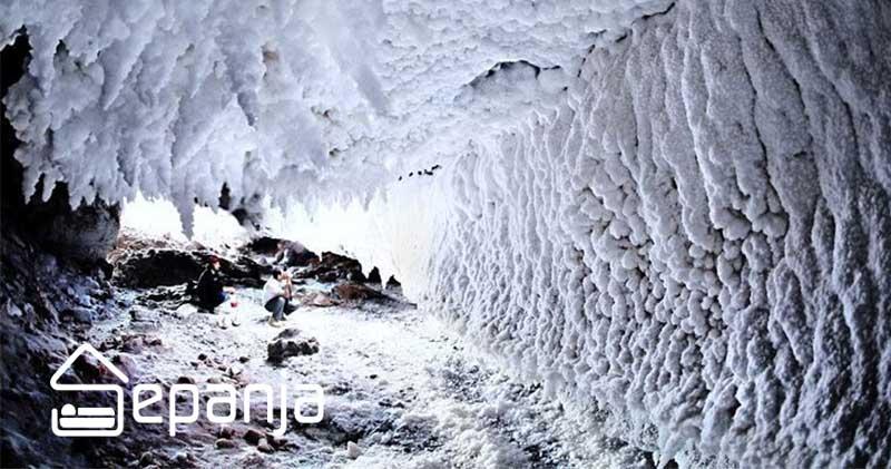 غار نمکی در قشم
