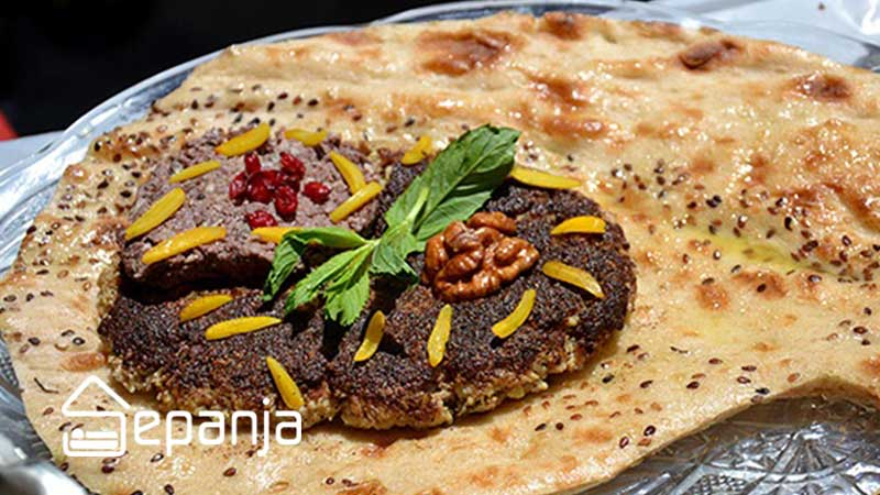بریانی غذای محلی اصفهان