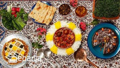 تصویر غذای محلی استان های مختلف ایران را بشناسید