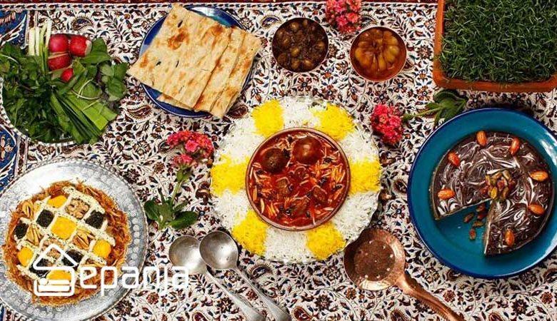 معرفی غذای محلی استان های مختلف