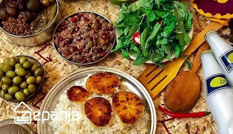 معرفی غذای محلی یزد