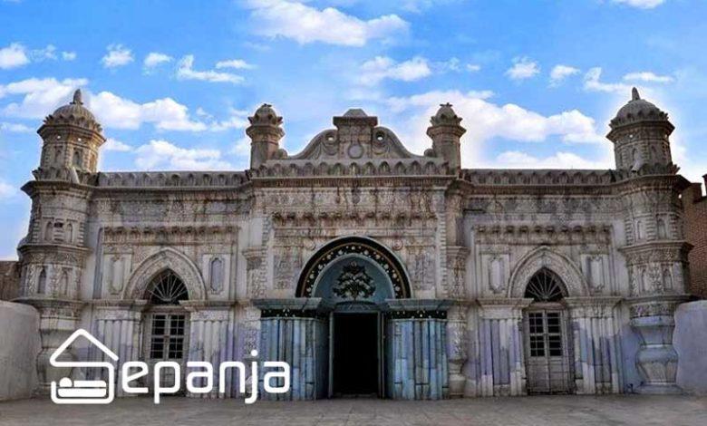 تصویر مسجد رنگونی های آبادان تمامی تصورات شما را بهم خواهد ریخت