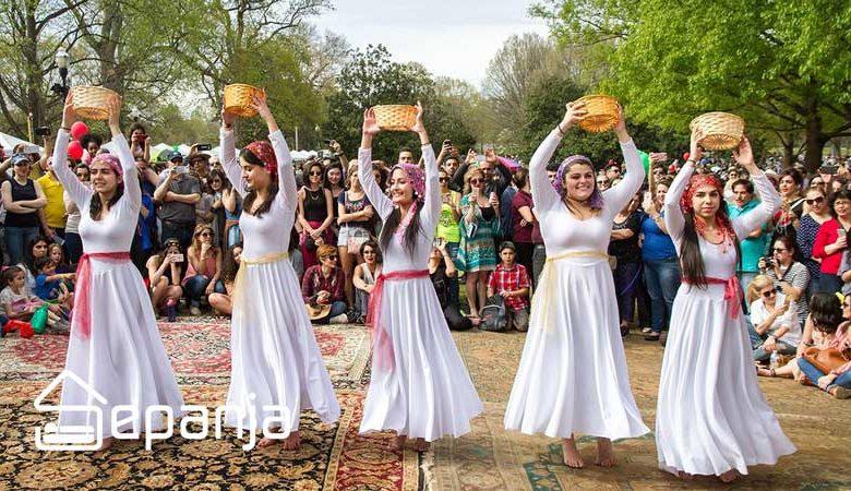 تصویر نوروز در گرجستان ، با فرهنگی بسیار شبیه به خودمان را از دست ندهید!
