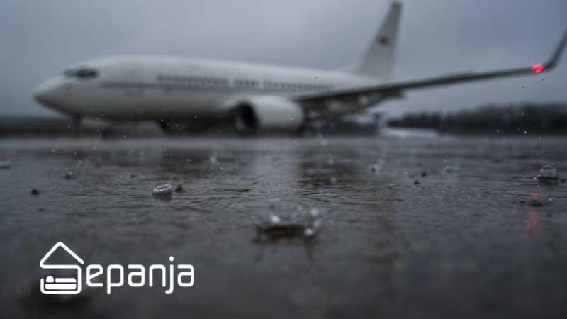 وضعیت آب و هوایی در سفر
