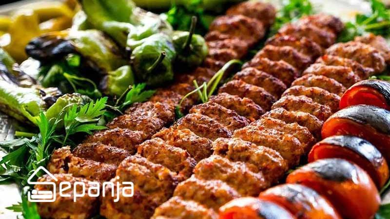 کباب بناب از غذاهای محلی تبریز
