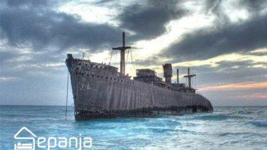 تصویر کشتی یونانی کیش و تمامی روایتهای رمزآلود و باورنکردنی (Greek Ship)