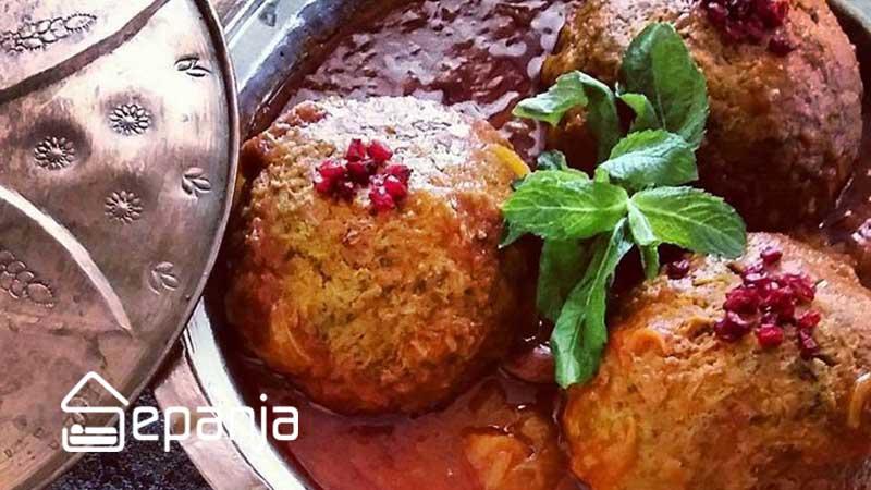کوفته تبریزی از غذاهای محلی تبریز