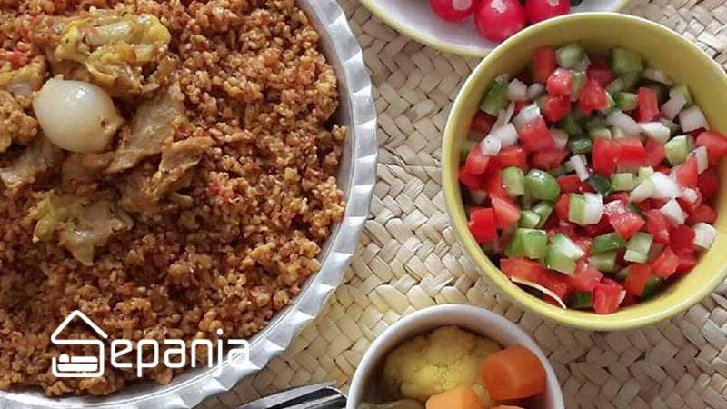 گمنه غذای محلی بوشهر