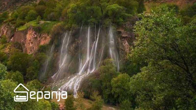 آبشار بیشه در استان لرستان