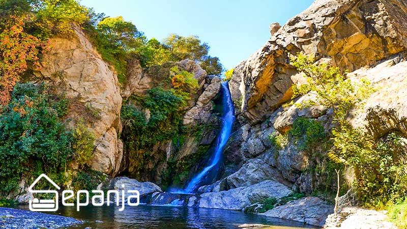 آبشار شلماش از جاهای دیدنی سردشت