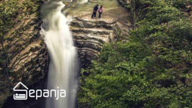 تصویر از آبشار ویسادار رضوان شهر گیلان