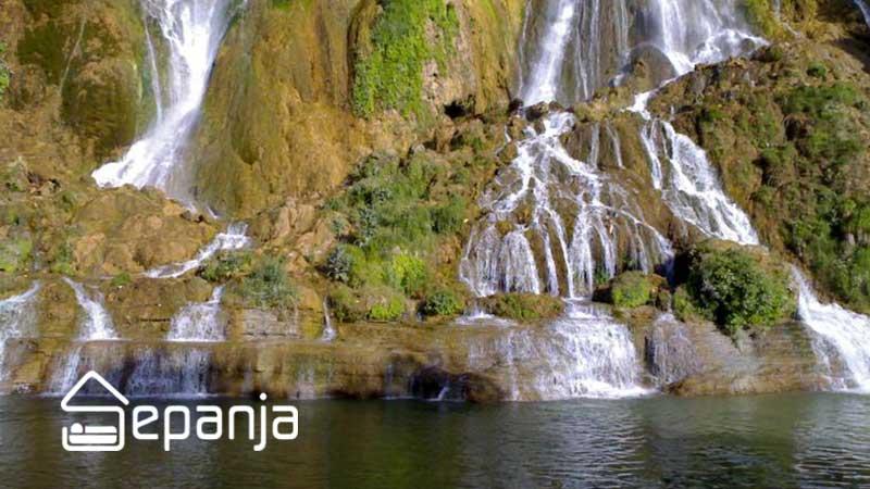 جاذبه های آبشار بیشه