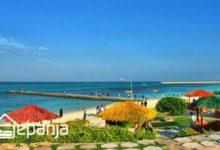 تصویر ساحل مرجان کیش و چیزهایی که دوست ندارند در مورد آن بدانید!
