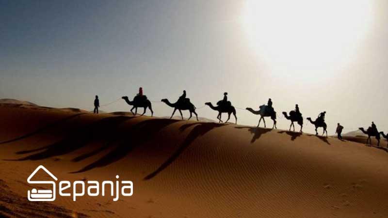 بهترین زمان سفر به کویر مصر