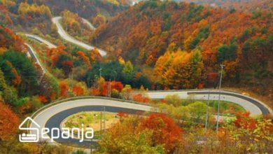 تصویر گردنه حیران ؛ بی نظیرترین جاده ایران را از دست ندهید!
