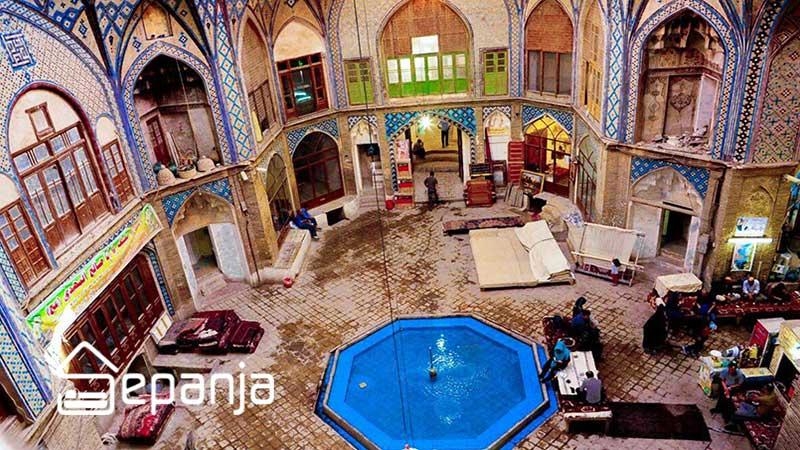 بازارهای سنتی شهر کاشان در استان اصفهان