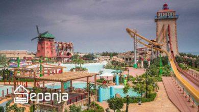 تصویر تم پارک آبی اوشن کیش ، اولین پارک آبی روباز ایران